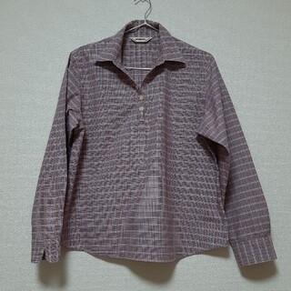 マックレガー(McGREGOR)のマクレガー 綿100%シャツ プルオーバー サイズL  美品 (シャツ/ブラウス(長袖/七分))