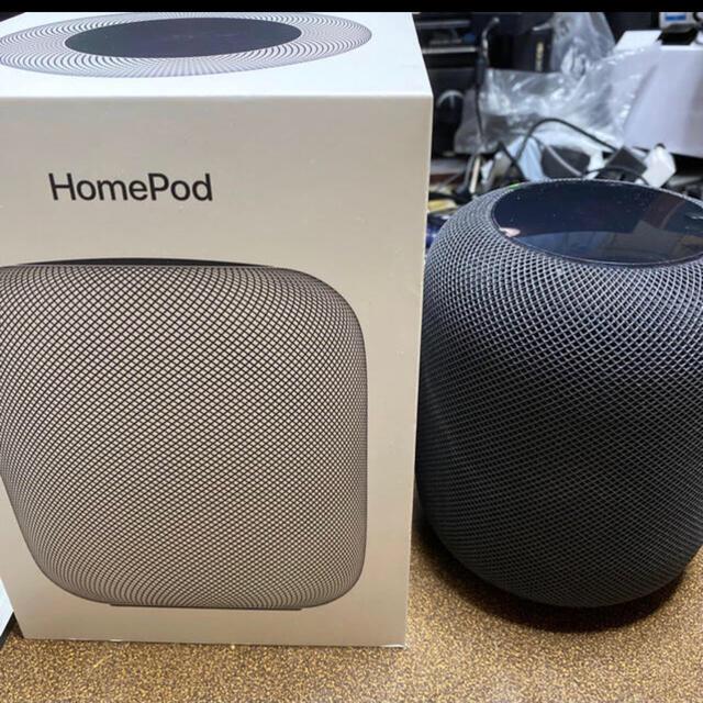 Apple(アップル)のhomepod スマホ/家電/カメラのオーディオ機器(スピーカー)の商品写真