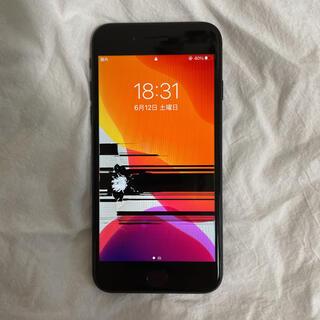 iPhone - iPhone SE 第2世代 ブラック 128GB SIMフリー ジャンク品
