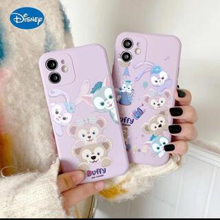 ディズニー(Disney)のディズニー ダッフィーアンドフレンズ iPhoneケース スマホケース カバー(iPhoneケース)