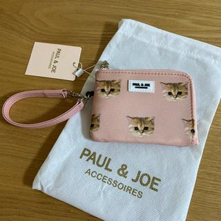 PAUL & JOE - 【ポール&ジョー】パスケース コインケース 定期入れ キーケース 猫柄 ヌネット