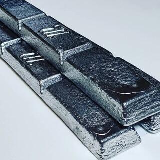 鉛 インゴット メタルジグ作製用 アンチモン6%