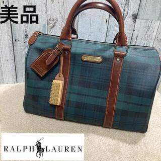 POLO RALPH LAUREN - 美品 ポロ・ラルフローレン ボストンバッグ ハンドバッグ レト ビンテージ