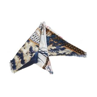 ルイヴィトン(LOUIS VUITTON)のルイ ヴィトン スカーフ レディース 美品(バンダナ/スカーフ)
