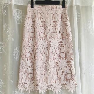 マイストラーダ(Mystrada)のマイストラーダ スプリングレースタイトスカート 34 (ひざ丈スカート)