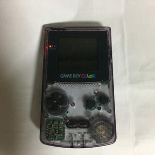 ゲームボーイ(ゲームボーイ)のジャンク品   ゲームボーイカラー(携帯用ゲーム機本体)