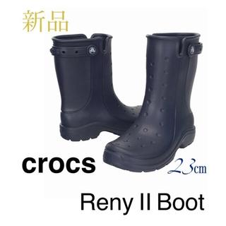 クロックス(crocs)の【新品タグ付】crocs クロックス レニー 2.0 レインブーツ 長靴(レインブーツ/長靴)