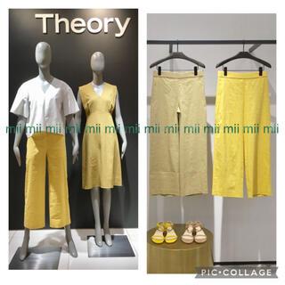 theory - ✤2019SS セオリー Theory ストレッチリネン ワイドパンツ✤