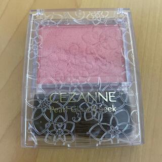 セザンヌケショウヒン(CEZANNE(セザンヌ化粧品))のセザンヌ パールグロウチーク P1 ゴールドピーチ(チーク)