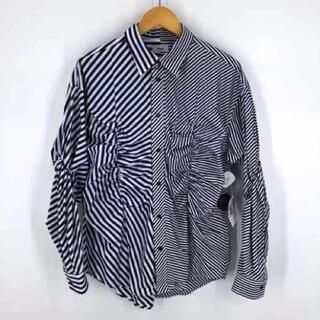 TOGA - allege ストライプ切替シャツ