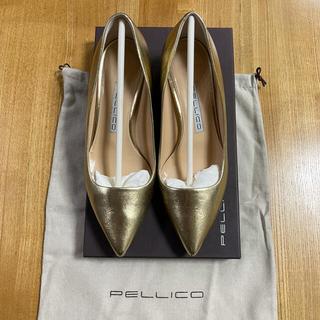 ペリーコ(PELLICO)のペリーコ*3.5ヒール 35 1/2 ゴールド(ハイヒール/パンプス)
