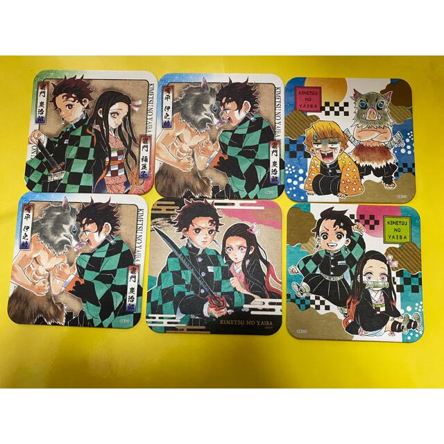 鬼滅の刃 コースター まとめ売り エンタメ/ホビーのおもちゃ/ぬいぐるみ(キャラクターグッズ)の商品写真