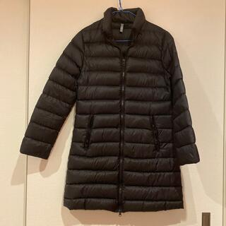 ユニクロ(UNIQLO)のダウンジャケット黒ブラック冬服ユニクロUNIQLO防寒クリーニング済洗濯済(ダウンジャケット)