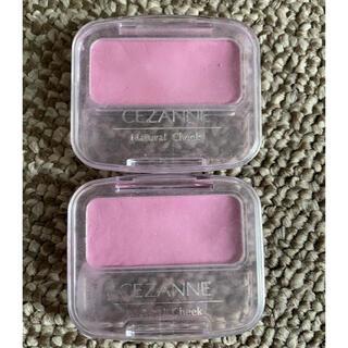 セザンヌケショウヒン(CEZANNE(セザンヌ化粧品))のセザンヌ チーク 2個(チーク)