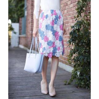 Noela - フラワーレーススカート