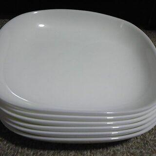 山崎春のパンまつり arc白いお皿セット スクエア5枚 【未使用】