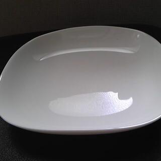 ヤマザキセイパン(山崎製パン)の山崎春のパンまつり arc白いお皿セット スクエア6枚 【未使用】(食器)
