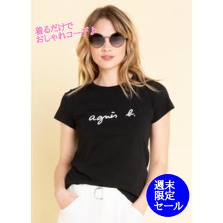 agnes b. - アニエスベー Agnes b. レディース  トップス Tシャツ 黒 ブラック