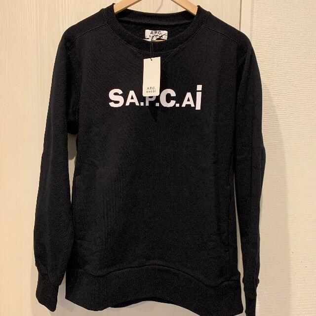 sacai(サカイ)の新品未使用 A.P.C. x SACAI Kiyo スウェット Mサイズ メンズのトップス(スウェット)の商品写真