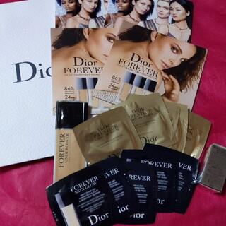 クリスチャンディオール(Christian Dior)のディオールファンデサンプル(サンプル/トライアルキット)