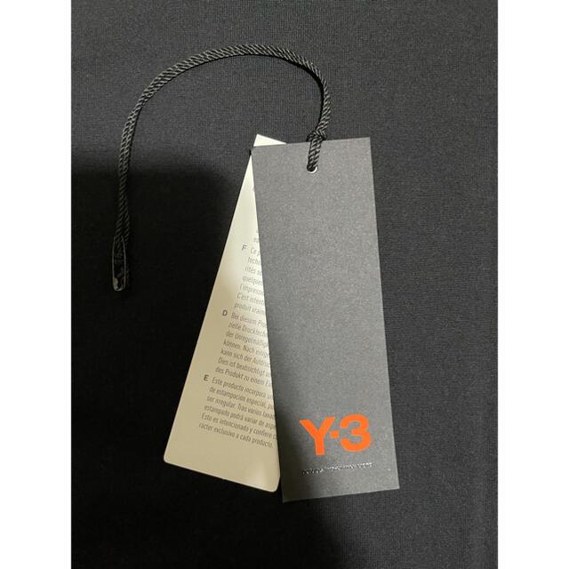 Y-3(ワイスリー)のY-3 ワイスリー yohji yamamoto バックロゴ ロンT メンズのトップス(Tシャツ/カットソー(七分/長袖))の商品写真