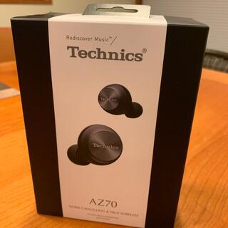 お値下げ❣️Technics ワイヤレスイヤホン EAH-AZ70W ブラック(ヘッドフォン/イヤフォン)