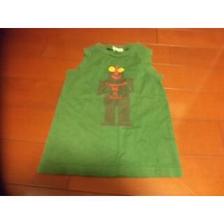 ハッカキッズ(hakka kids)のHAKKA 男児 ノースリーブ サイズ120 ロボット グリーン(Tシャツ/カットソー)