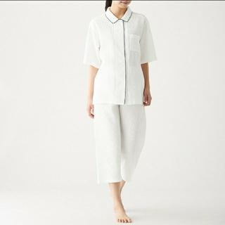 ムジルシリョウヒン(MUJI (無印良品))の脇に縫い目のない ワッフル織り 半袖パジャマ レディース(パジャマ)
