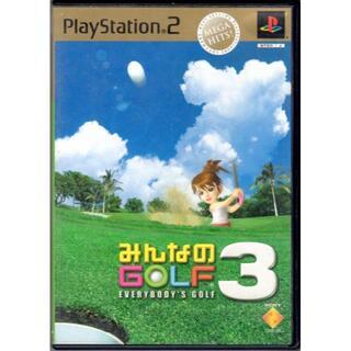 プレイステーション2(PlayStation2)の【20%引き対象】みんなのGOLF3 MEGA HITS![PS2](家庭用ゲームソフト)
