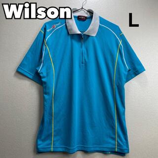 ウィルソン(wilson)のWilson ゴルフウェア スカイブルー L(ウエア)