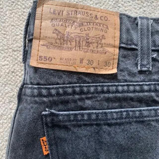 Levi's - Levi's 550 リラックステーパードジーンズ w30 l30