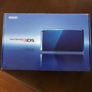 ニンテンドー3DS(ニンテンドー3DS)のNintendo 3DS 本体 コバルトブルー(携帯用ゲーム機本体)
