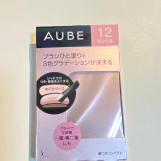 オーブクチュール(AUBE couture)のオーブ ひと塗りアイシャドウ N12 ピンク系(アイシャドウ)