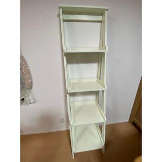 白い本棚(本収納)