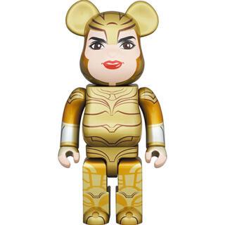 MEDICOM TOY - BE@RBRICK WONDER WOMAN GOLDEN ARMOR 400%