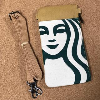 Starbucks Coffee - 海外限定 スターバックス タイ 非売品 スマホケース ポーチ エブリデイバッグ