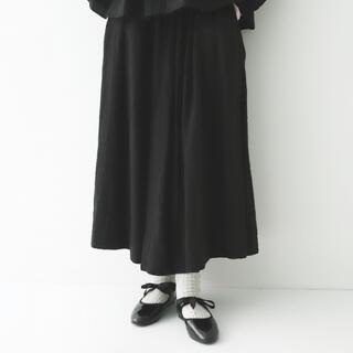 nest Robe - nest robe/リネン ギャザー スカート
