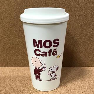 SNOOPY - 海外限定 モスカフェ×ピーナッツ スヌーピー リユーザブルカップ エコタンブラー