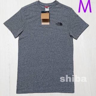 THE NORTH FACE - ノースフェイス tシャツ 灰 simple dome t-shirt  海外M
