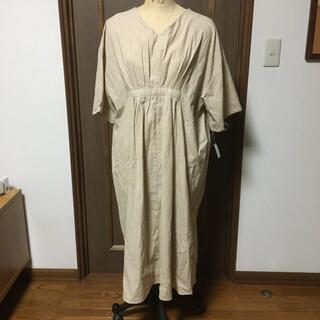 新品タグ付✴︎インド綿オーバーワンピース(ロングワンピース/マキシワンピース)