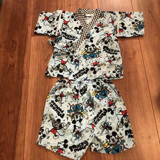 ディズニー(Disney)の甚平 80cm ★ディズニー ミッキー(甚平/浴衣)