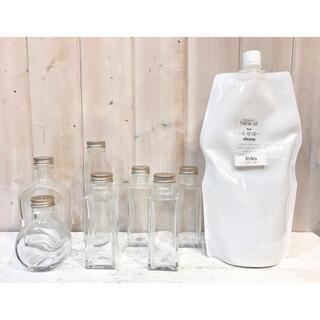 ★新品未使用★おまけ付き★ハーバリウムボトル7本セット(ドライフラワー)