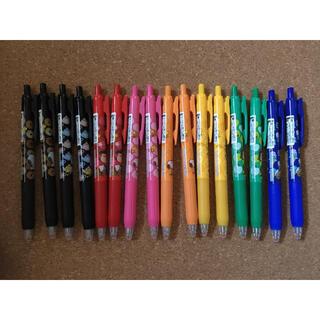 サラサ(さらさ)のサラサクリップボールペン スヌーピー 8種類×2セットの16本 新品(ペン/マーカー)