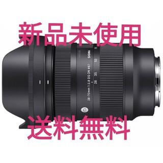 SIGMA - 新品未使用 28-70mm F2.8 DG DN ソニーE用