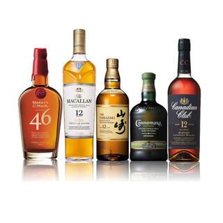 サントリー(サントリー)の【新品/未開栓】世界のウイスキー飲み比べ セット(ウイスキー)