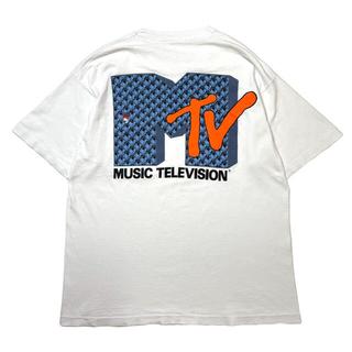 アートヴィンテージ(ART VINTAGE)の希少 90s MUSIC TEVEVISION MTV Vintage Tee(Tシャツ/カットソー(半袖/袖なし))