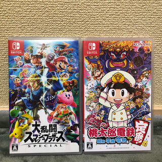 Nintendo Switch - スマブラ 桃太郎電鉄