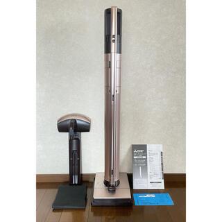ミツビシデンキ(三菱電機)の三菱 コードレススティッククリーナー 空気清浄機能 HC-VXG30P ピンク(掃除機)