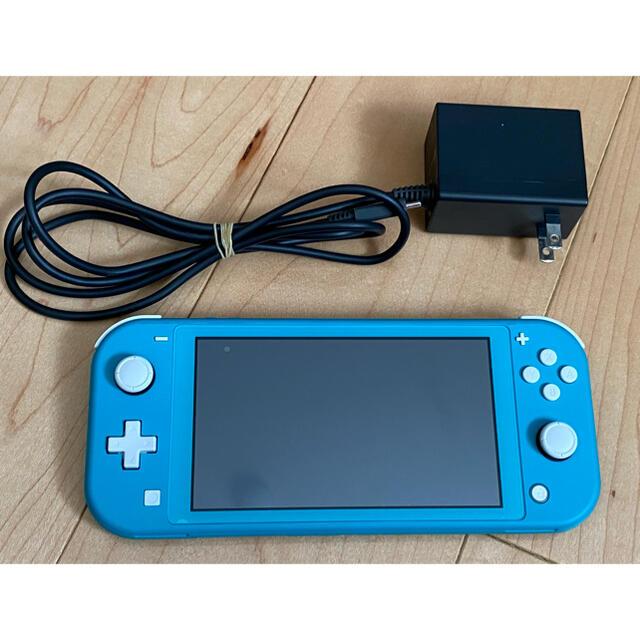 Nintendo Switch(ニンテンドースイッチ)のニンテンドー スイッチ ライト switch lite ターコイズ エンタメ/ホビーのゲームソフト/ゲーム機本体(携帯用ゲーム機本体)の商品写真