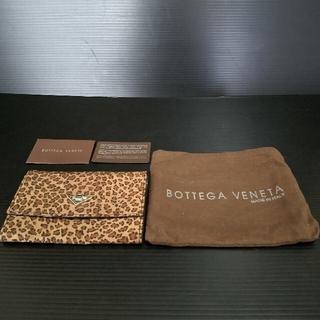 ボッテガヴェネタ(Bottega Veneta)の⭐BOTTEGA BENETAボッテガヴェネタ/ヒョウ柄二つ折り財布(財布)